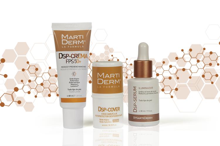 En Martiderm poseemos tres tipos de productos de uso tópico, muy fáciles de usar y que recomendamos de manera particular para la prevención de manchas.