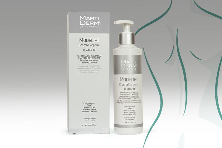 Modelift es una crema para zonas localizadas, con una acción hidratante, reafirmante y tensora gracias a los activos que contiene.