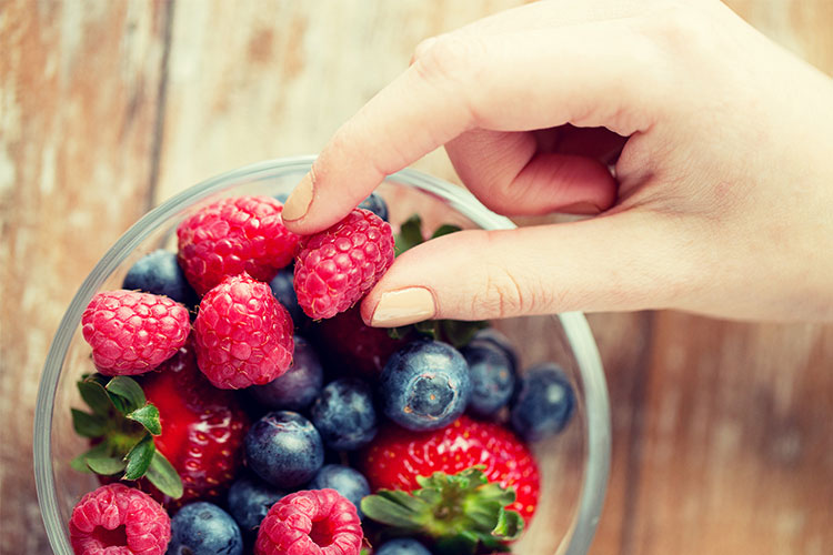 Alimentación equilibrada durante el verano